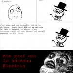 mon prof, ce génie