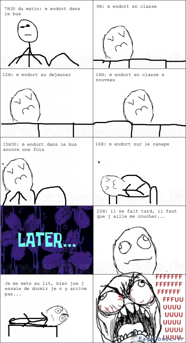 Sleep Rage