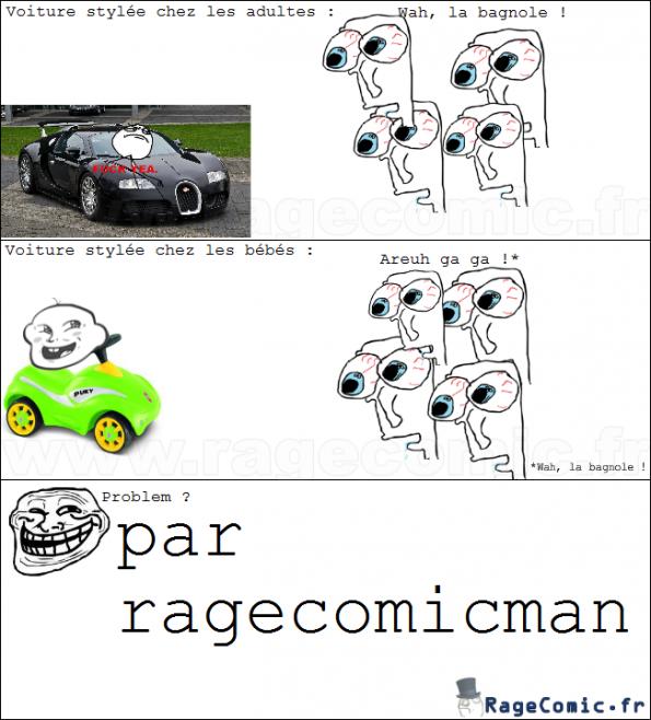 Les voitures stylées