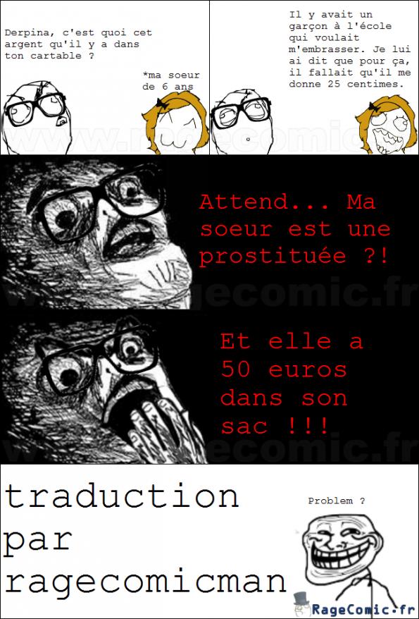 traduction francais anglais prostituée