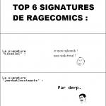 Signatures, signatures....