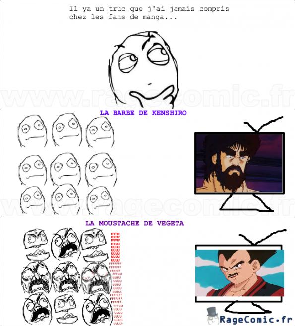 La logique des fans de manga