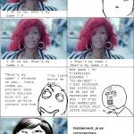 Rihanna ! Ton nom c'est: Rihanna !