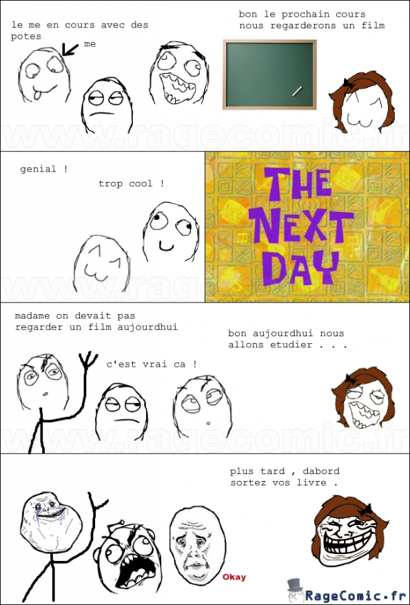la prof troll