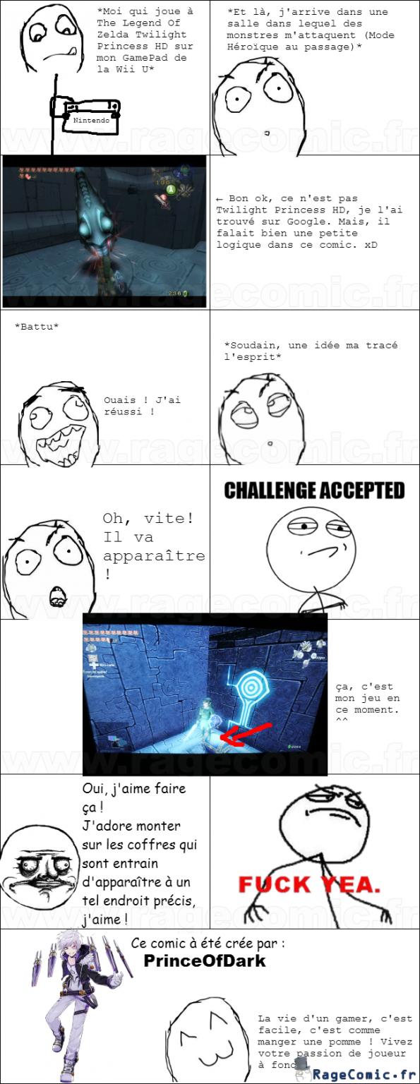 Ce que j'aime faire dans les jeux Zelda