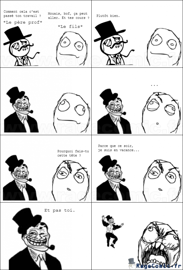 Le père prof