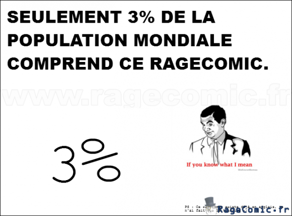 If You Know What I Mean 1 3 Non Classe Rage Comics Francais