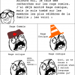 Le clan Rage comic