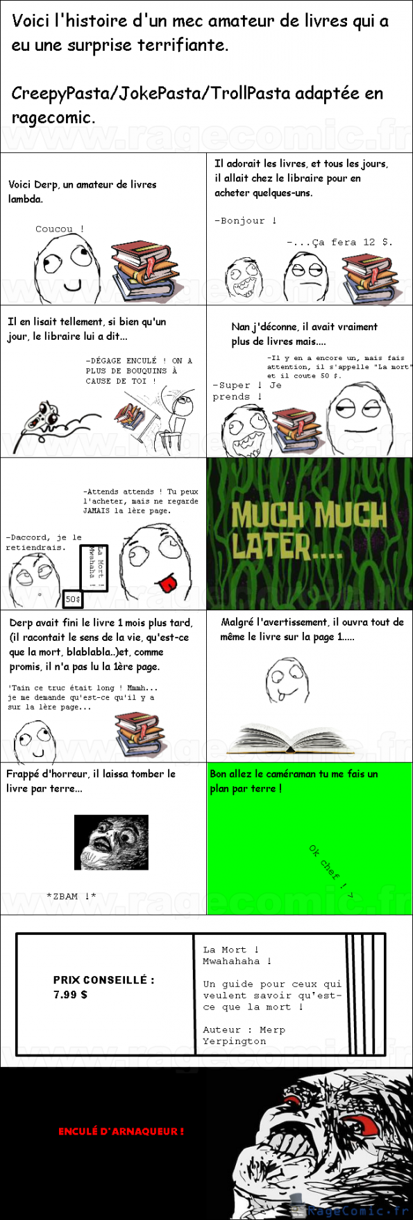 Histoire d'une JokePasta