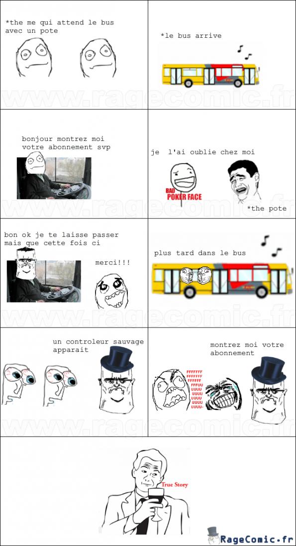 l'abonnement de bus