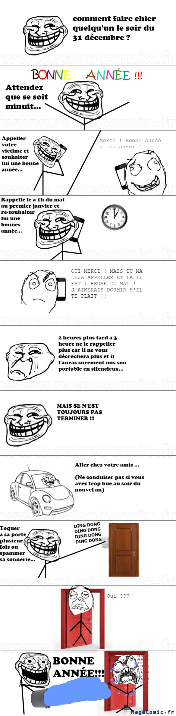 Troll au nouvel an !