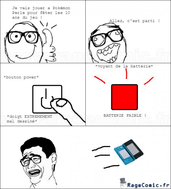 Batterie faible !