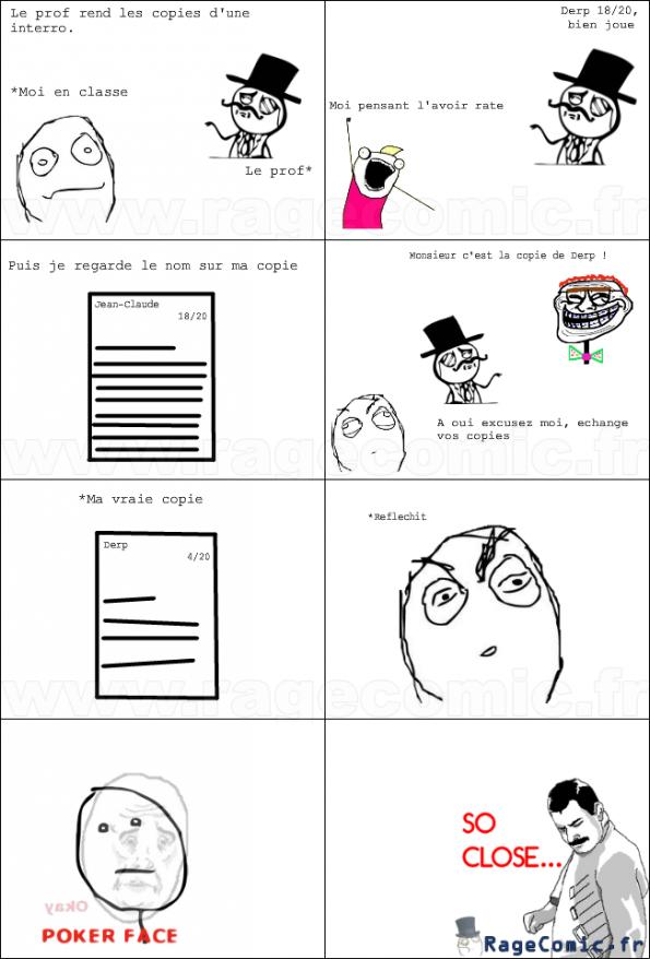 La faute du prof