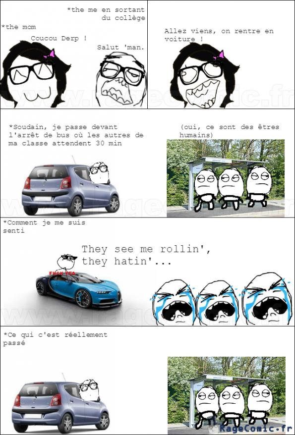 En voiture !