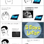 La tablette trolleuse