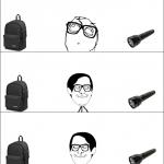 Lampe + sac = ...