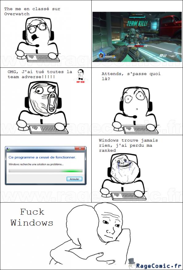Windows et Overwatch