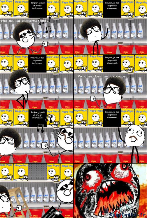 Le Supermarché.