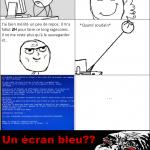 Ecran Bleu