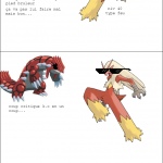 Groudon vs Braségali