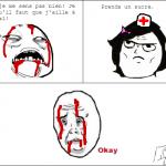 L'infirmière du lycée/collège