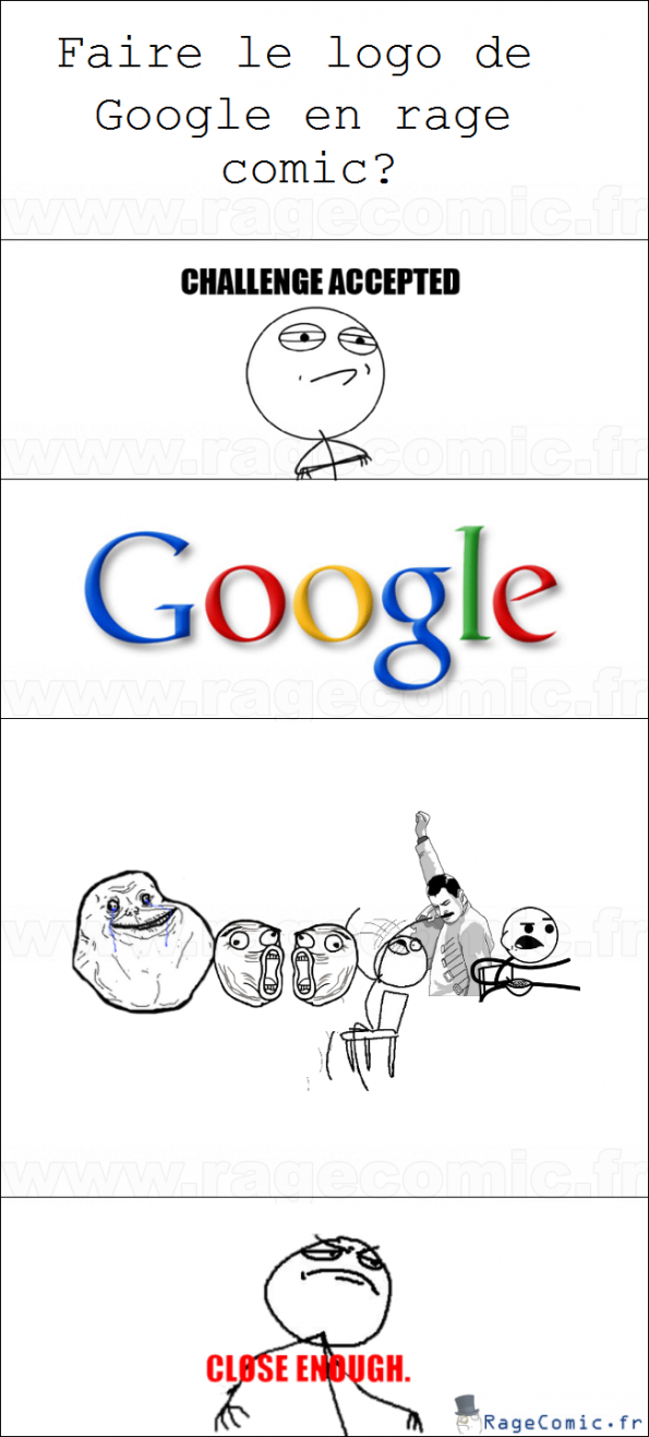 Google? Challenge accepted!