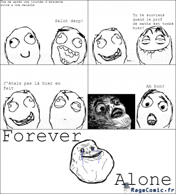 Forever Alone Lvl Up