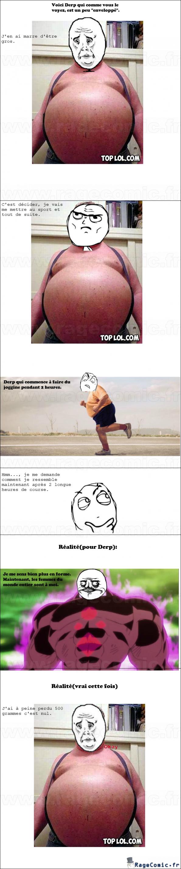 sport pour gros