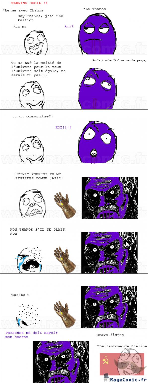 Le secret de Thanos