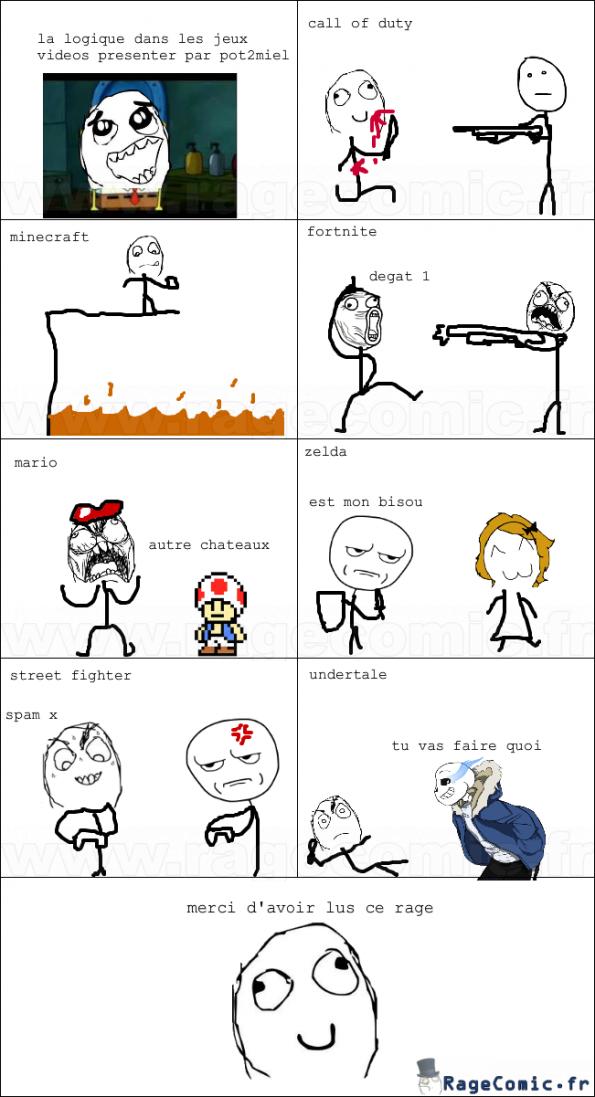 la logique des jeux vidéos