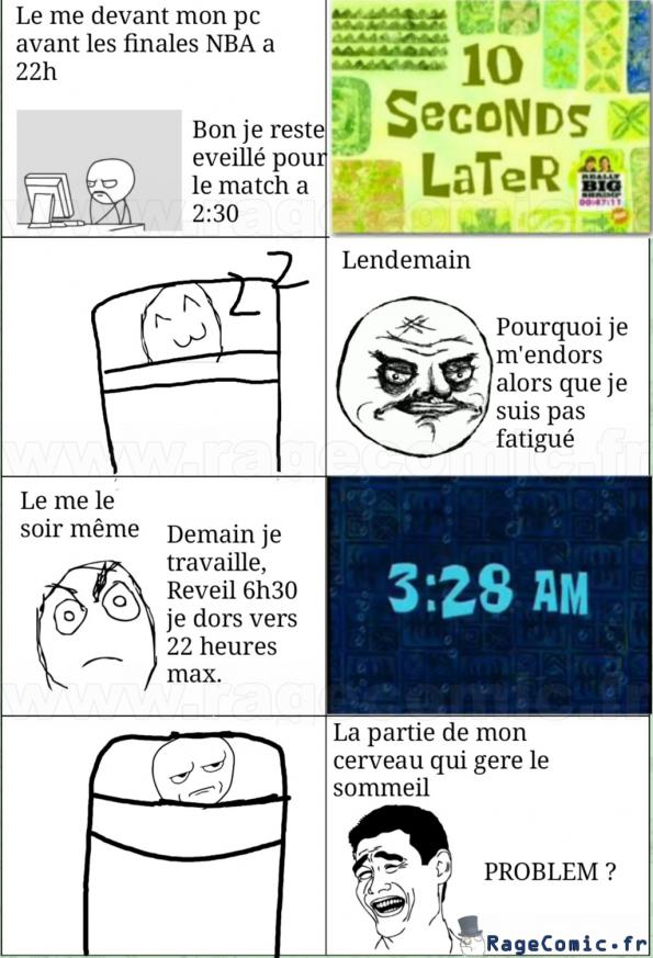 The me et mon sommeil