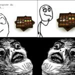 Toujours le mauvais chocolat