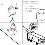 Quand le bus te dépasse...