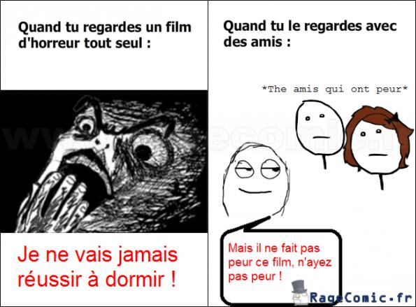 Film d 39 horreur poker face rage comics francais troll face for Miroir film horreur