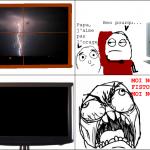 Coupure d'éléctricité