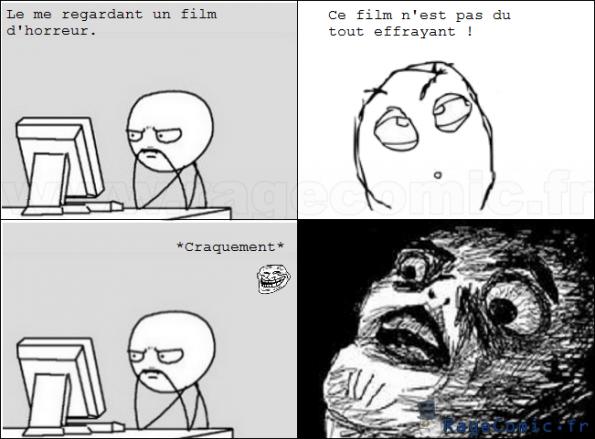 Film d 39 horreur oh crap rage comics francais troll face for Miroir film horreur