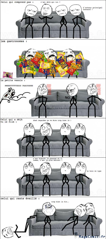 La façon de voir les films