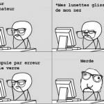 Remontage de lunettes