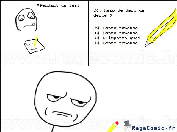 Trollé par un test