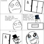 Comment je vois les toilettes handicapées