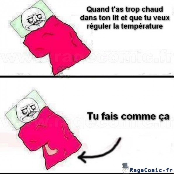 Quand t'as trop chaud