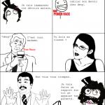 Dispute en classe