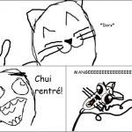 Le chat guette...