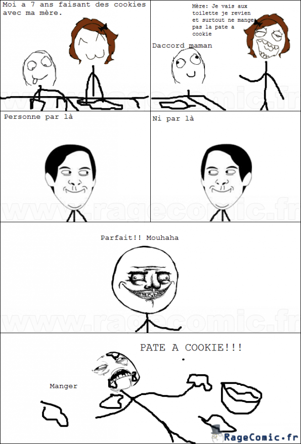 Pate a cookie!!