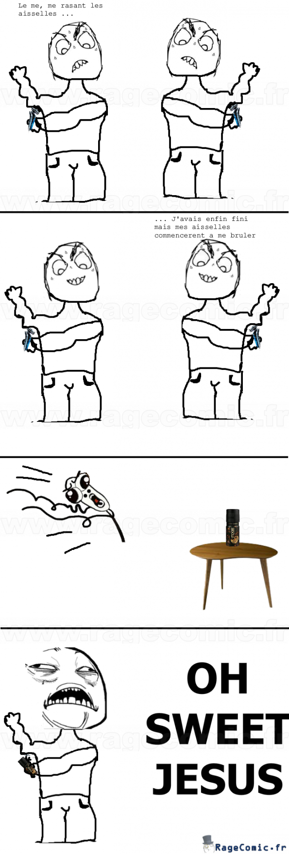 Le déodorant magique