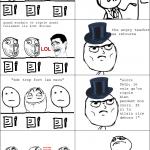Viré du cours