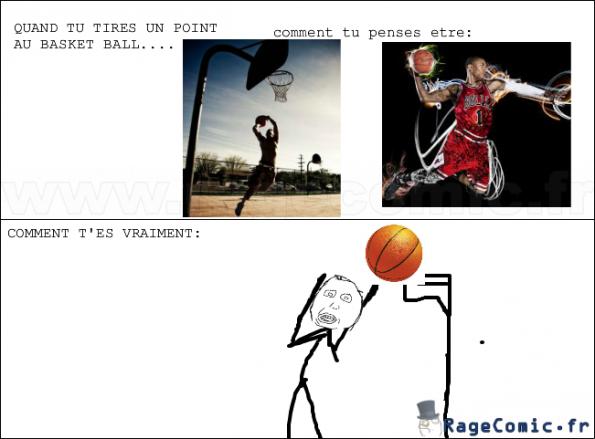 Histoire de basket ball...