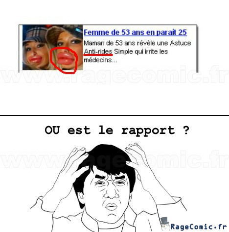 Rapport ? Aucun ...