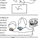 Caillous et diamants vs Gravité