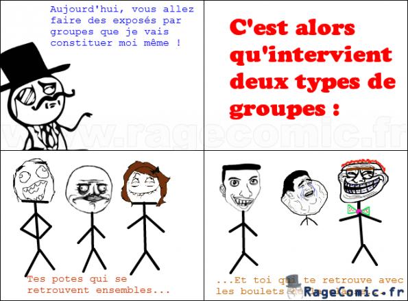 Les Groupes Troll